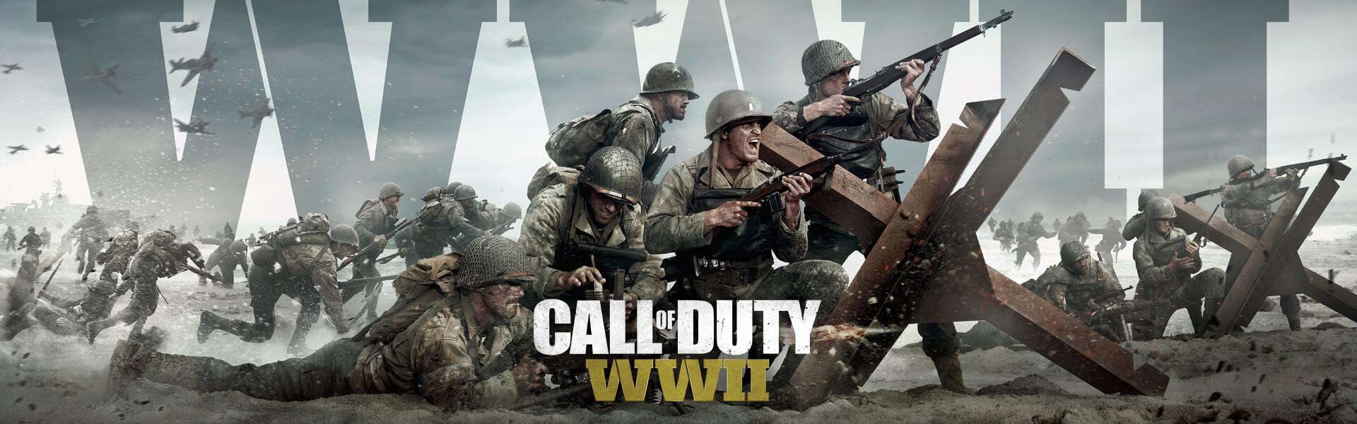 بازی call of duty ww2 xbox one