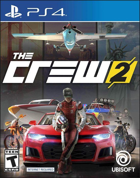 بازی ps4 the crew 2