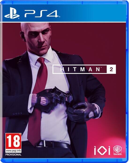 بازی ps4 hitman 2