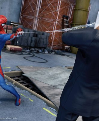 spider man game ps4