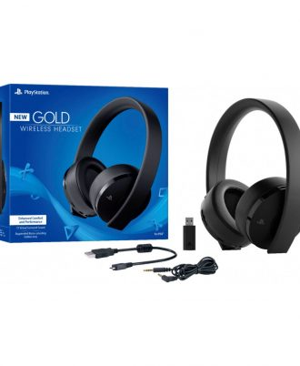 gold headset PS4