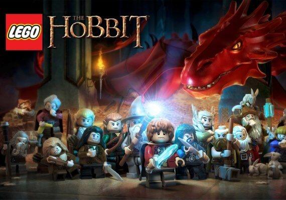 بازی ps4 lego hobit