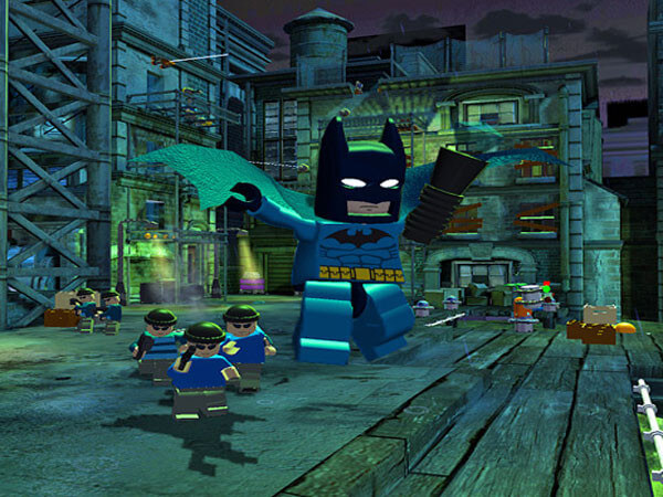بازی lego batman ps4