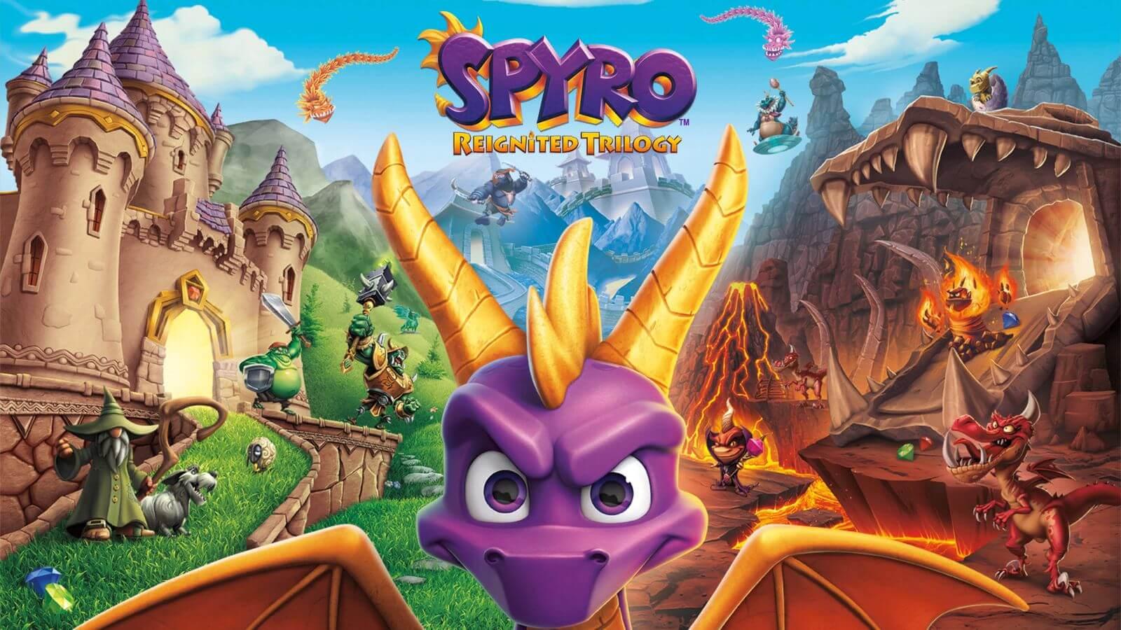 Spyro-Reignited ps4
