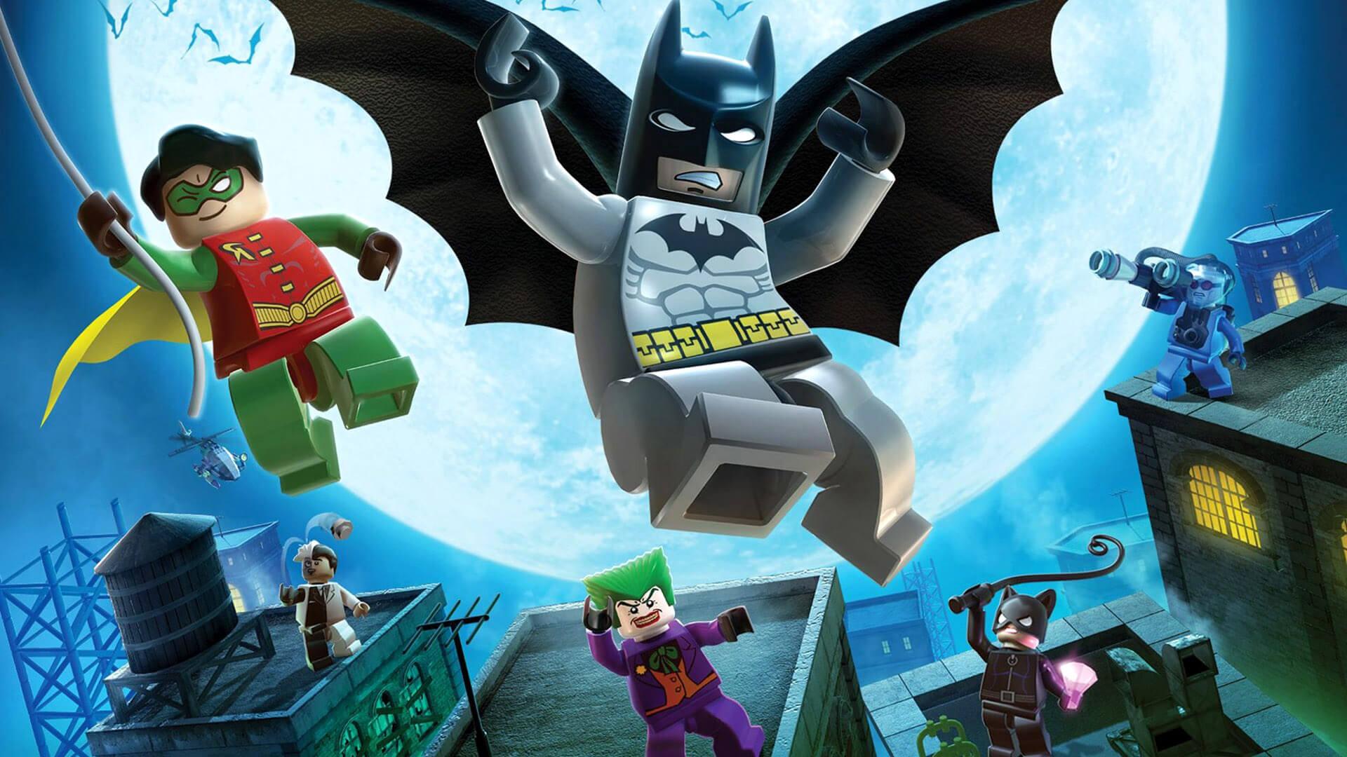 بازی lego batman