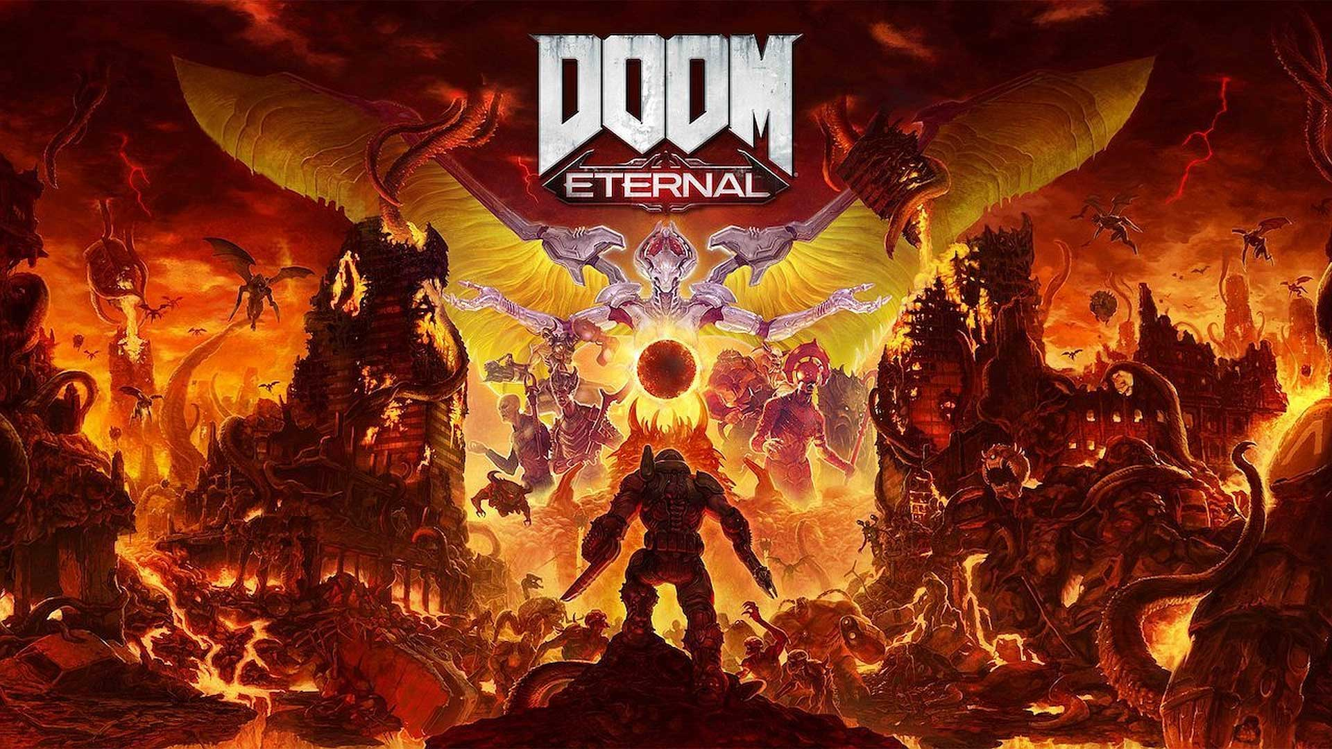 بازی ps4 doom eternal