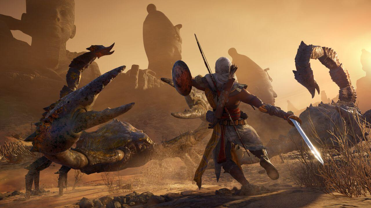 بازی ps4 assassin origin