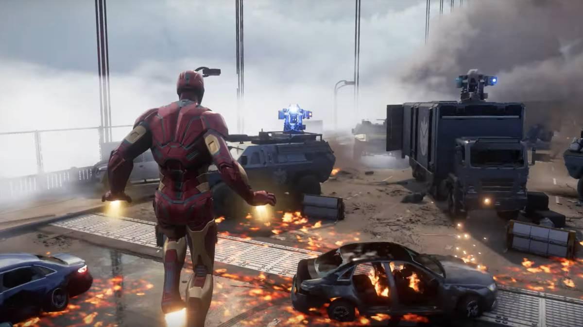 بازی marvels avengers