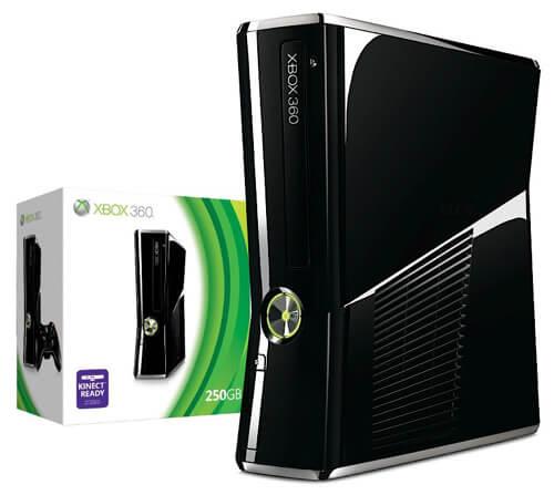 خرید xbox 360 اسلیم 250G همراه با 30 بازی | قیمت ایکس باکس 360 جیتگ اسلیم