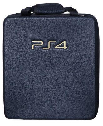 کیف PS4 طرح چرم مشکی