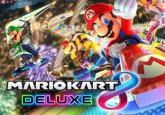 9. Mario Kart 8 Deluxe