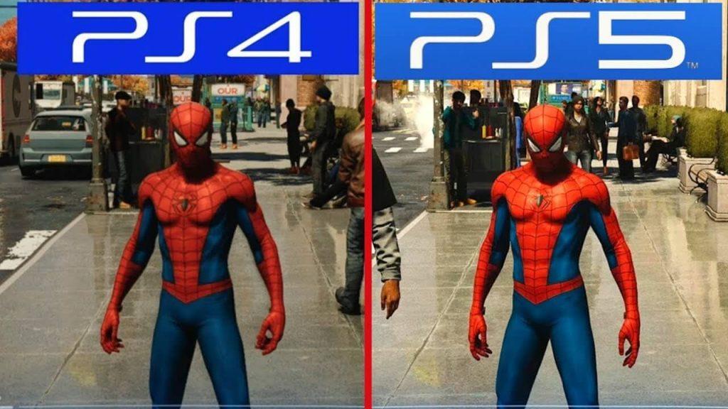 مقايسه گرافیک بازی PS4 با PS5