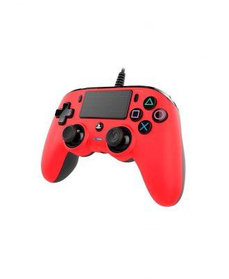 دسته-بازی-nacon-نسخه-wierd-compact-قرمز-برای-پلی-استیشن-4