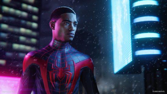 خرید بازی spiderman miles morales برای ps4 | قیمت بازی مرد عنکبوتی: مایلز مورالس
