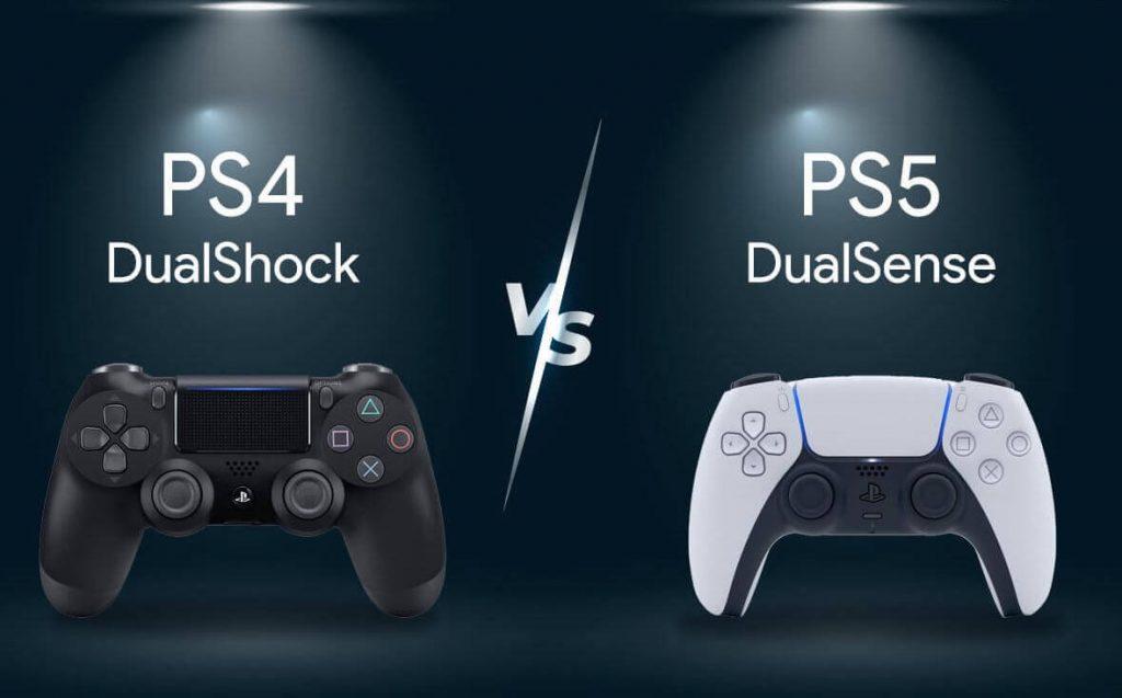تفاوت دسته بازی ps5 با ps4