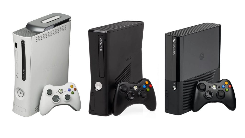 different-models-of-Xbox-360